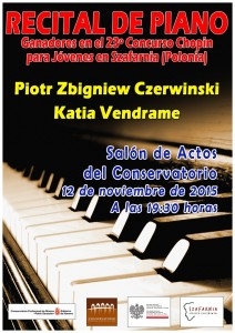 Cartel Recital Piano