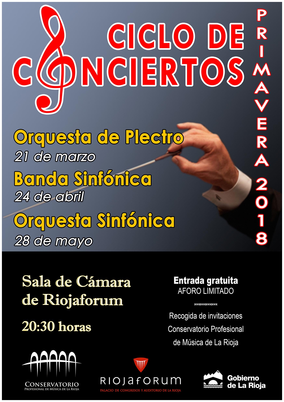 Conciertos de Primavera 2018_CARTEL