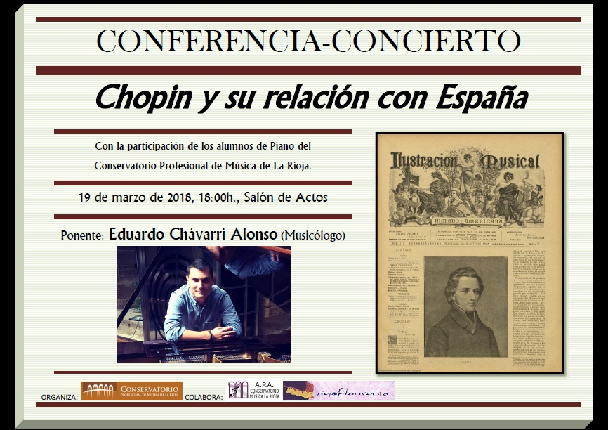 Cartel Conferencia Chopin